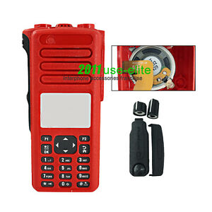 Replacement Housing Case with Speaker for Motorola XPR7550e Portable Radio red