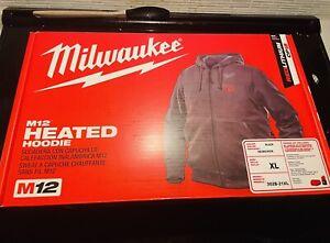 Milwaukee M12 Heated Hoodie/ Milwaukee M12 Heated Jacket L Xl (read Description)