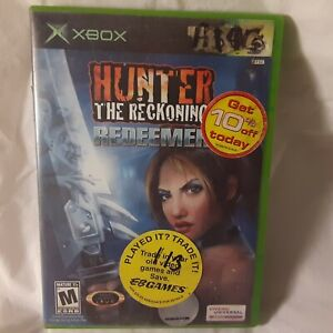 Hunter: The Reckoning Redeemer (Microsoft Xbox, 2003) Game~Acceptable CIB