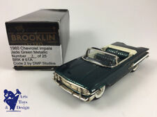 1/43 BROOKLIN DMP 61A CHEVROLET IMPALA 1960 GREEN CODE 2 LTD ED 25EX N°7/10 OR11