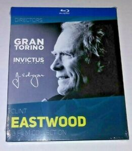 CLINT EASTWOOD 3 film collection blu ray