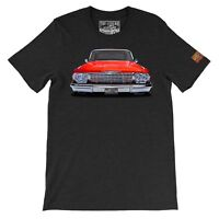 1962 Chevy impala The Legend Classic Car Men's T-shirts American Muscle Car