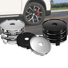 4x 60mm ABS Universal Car Wheel Tire Rims Center Hub Caps Cover Decorative BA