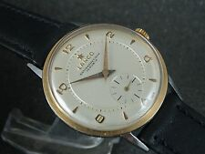 OLD BIG LANCO SWISS WATCH REFINISHED TEXTURED DIAL