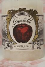 "Grimhilda Poison Apple Candle Dw Home Candle White 4"" Inch"