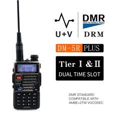 Baofeng DM-5R Plus Digital& Analog dual mode Portable Radio VHF UHF DMR 5W 128CH
