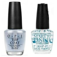 OPI MINI ORIGINAL Top Coat & MINI START TO FINISH Base Coat DUO Set **GIFT SET**