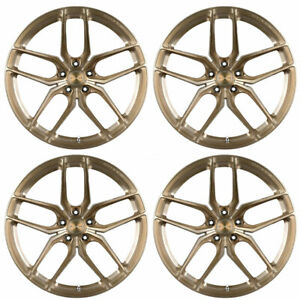 "20"" STANCE SF03 BRONZE FORGED CONCAVE WHEELS RIMS FITS BENZ W216 CL550 CL55"