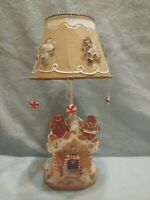 New!!! Gingerbread House Tealight Candle Holder w/ Shade