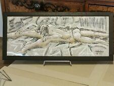 Dessin Original au pastel - Signé DELANNOY - Daté 2009 - Nu, Erotique
