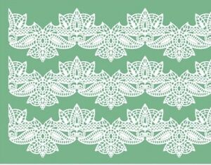 Pavoni Silicone Cake Lace Mat TMD06 UK Seller