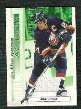 MIKE PECA 2003-04 IN THE GAME ACTION GAME USED JERSEY NEW YORK ISLANDERS