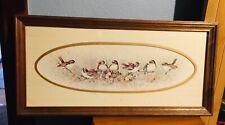 "Vintage Home Interiors Homco ""Little Birds"" Margie Marrow, 1983"
