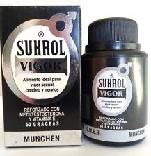 SUKROL VIGOR MAN 50 TABS DIETARY SUPPLEMENT SUKROL MEN HOMBRE 50 TABLETAS SEX