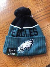 03a580741b8 Philadelphia Eagles NFL Authentic New Era On Field Sideline Pom Beanie New  Tags