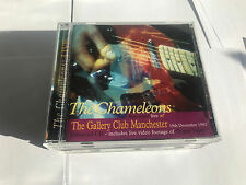 Chameleons Live At The Gallery Club, Manchester, RARE CD - MINT 1982 50139291198