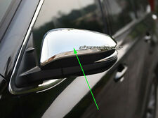 2 Pcs Chrome Side Wing Rear View Mirrors Protector for Toyota Kluger 2014-17