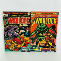 Marvel Comics Strange Tales #180 #181 1975 Feat Warlock 1st & 2nd App of Gamora
