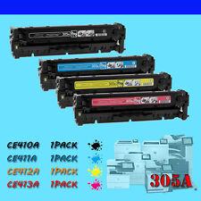 4 Premium Toner Cartridge for HP CE410A 305A M351a LaserJet Pro 400 Color M451nw