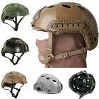 Helm Schutzhelm Taktische Khaki Sturzhelm für Jagd Militär Unisex Einstellbar DE