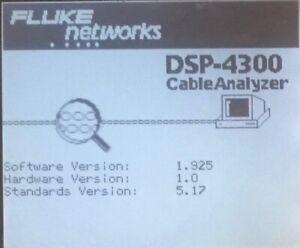 Fluke DSP-4300 Firmware Upgrade 1.925