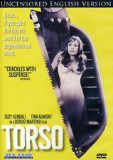 TORSO (UNCENSORED) - DVD - UK Compatible- Sealed