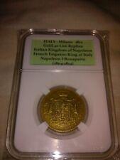 1812 ITALY Gold 40 Lire Commemorative Coin