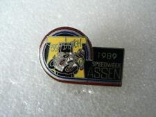 PINS,SPELDJES DUTCH TT ASSEN MOTO GP 1989 DUTCH TT ASSEN NO 3 SPEEDWEEK