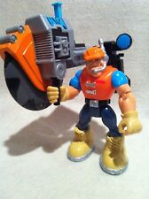 Rescue Heroes Beam Team Jack Hammer with Illuminated Saw!