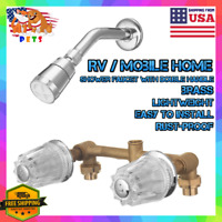 Camper/RV/Mobile Home Bathroom Tub /Shower/Kitchen Sink Brass Faucet & Head Part