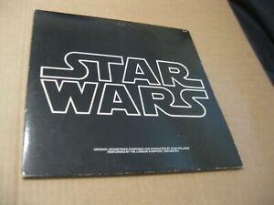 Star Wars Soundtrack Double LP 1977 Original Pressing EX Vinyl