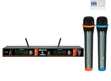Better Music Builder VM-82U G3 UHF Wireless Microphone System Dual Channel