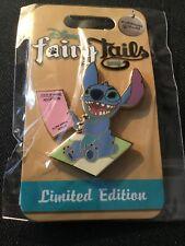 Disney FairyTails Pin Celebration Stitch's Adoption Day LE 750 Pin