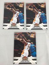 KOBE BRYANT 2010-11 Panini Threads Basketball NBA Trading Card #129 (3 of Them)