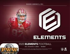 NEW ENGLAND PATRIOTS 2020 Panini Elements Football Half Case Break #1