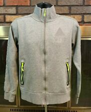 Nike West Athletics West Gray Full Zip Track Jacket 405111 063 Mens Size Small