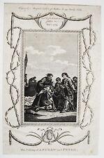Heiliger Andreas und Peter Jünger Christus  Bibel seltener  Kupferstich ca 1760