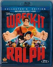 Wreck-It Ralph [Blu-ray Only WIth Case and Insert Disney 1-Disc] Excellent Cond