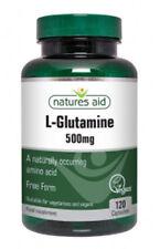 L-Glutamine 500mg - 120 Capsules - Natures Aid