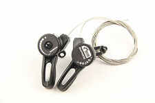 Shimano TZ20 Bike Bicycle 3 X 7 21 Speed Shifters Tigger Friction Thumb Shifter