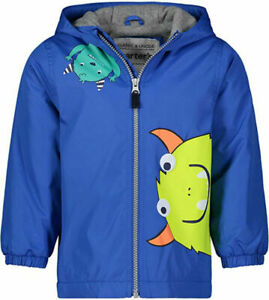 Carter's Boys Monster Fleece Lined Jacket Size 2T 3T 4T 4 5/6 7