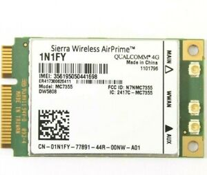 Genuine Dell 1N1FY DW5808 MC7355 4G LTE/HSPA+GPA 100Mbps Siera Wireless AirPrime