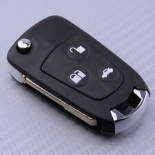 3 Button Flip Remote Key Blank Fob Case Shell Refit For Ford Mondeo Focus Black