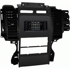 Metra 99-5722 Single/Double DIN Dash Installation Kit for 2010-12 Ford Taurus