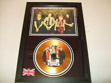 paramore  SIGNED  GOLD CD  DISC   44