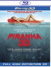Piranha 3D (Blu-ray Disc, 2011, , 2D/3D) Richard Dreyfuss (NEW)