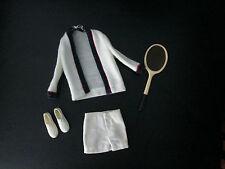 Vintage Barbie Ken Tennis Shoes & Sweater Set Racquet Short Time for Outfit 790