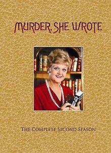 Murder She Wrote - The Second Season 2 (DVD, 2005, 3-Disc - Free Ship
