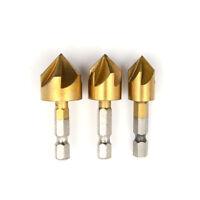 Utensile per punte a svasare in metallo da 3 mm 12mm-19mm per utensile per  fu