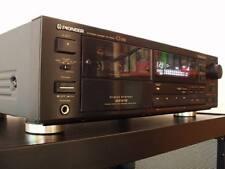 PIONEER ct-656 3-testa cassette in nero + accessori, 12 mesi di garanzia *